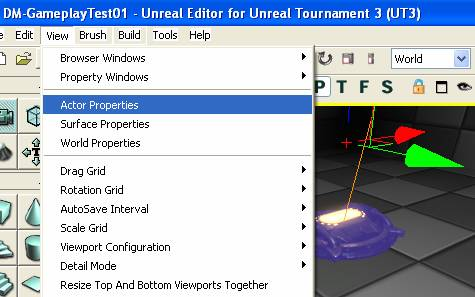 Learning Unreal Engine 3 – UE3 Editor - Editor Basics - Adding